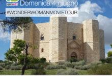 Andria – #WonderWomanMovieTour: domenica al Castel del Monte