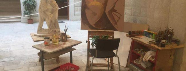 Trani – Palazzo Beltrani: corsi di disegno e pittura del maestro William Tode,