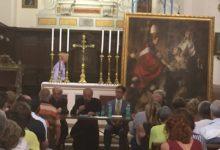 "Trani – Benedizione dipinto ""San Francesco d'Assisi ricevuto da Papa Innocenzo III"""