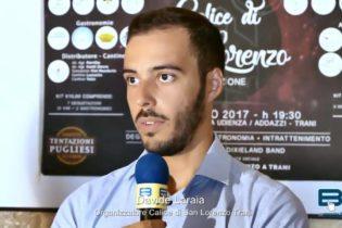 """VIDEO. Trani – La conferenza stampa di presentazione di """"Calice di san Lorenzo"""""""