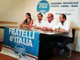 Trani – Due assessori azzurri di Trinitapoli passano a Fratelli d'Italia