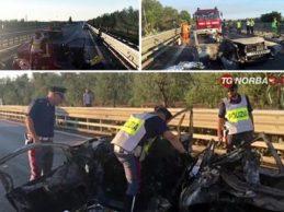 Incidente stradale Trani: disposta autopsia tre vittime