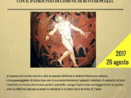 """Ruvo di Puglia – Sabato 26 agosto """"Passeggiata letteraria. Itinerario del Bello"""""""