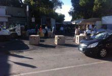 Andria – Anche la città federiciana adotta le misure antiterrorismo. Barriere e fioriere al mercato settimanale.