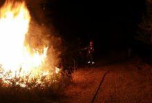 Barletta –  Ancora fumo e cattivo odore, due incendi fra Ariscianne e le Salinelle