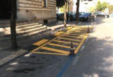 """Andria – Scuole sicure: strisce a terra all'uscita alunni """"Oberdan"""""""