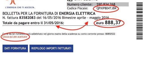 Truffe online – La finta bolletta Enel energia