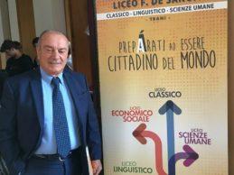 Trani – Gli studenti del De Sanctis incontrano Giuseppe Costanza, autista del giudice Falcone