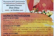 Trani – Dieci anni di sacerdozio di Don Dino Cimadomo