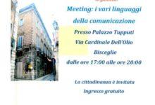 """Bisceglie – Meeting: """"I vari linguaggi della comunicazione"""""""