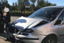 Andria – Incidente tra Via Vecchia Spinazzola e Via Corato. FOTO