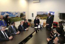 Andria – Il saluto del Prefetto Minerva ai sindaci della BAT. IL VIDEO