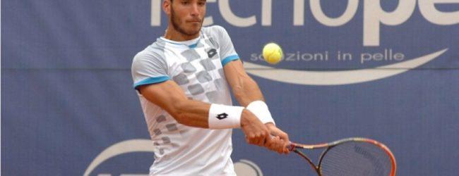 Andria – Tennis ATP: Pellegrino vola al secondo turno