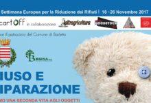 """Barletta; settimana europea per la riduzione dei rifiuti """"Il miglior rifiuto è quello non prodotto"""""""