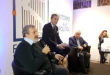 """Andria – Marmo vs Emiliano in """"Ritorno alla politica"""": un dibattito politico costruttivo e rispettoso. Foto e Video."""