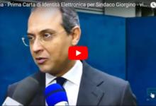 Andria – Carta di Identità Elettronica: la prima rilasciata oggi al Sindaco. IL VIDEO