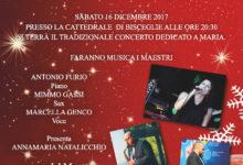 """Bisceglie – Domani in Cattedrale """"In Canto del Natale"""", concerto dedicato a Maria"""