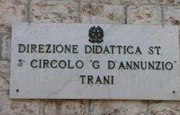 """Trani – Giovedì alla D'Annunzio progetto per una """"Sana Alimentazione"""""""