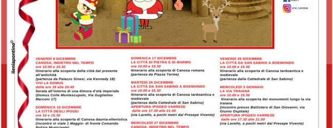 Canosa di Puglia – Natale in Archeologia 2017: tutti gli eventi