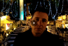 Trani – Il presepe comunale ricco di simboli divini. VIDEO