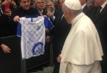 Andria – La Fidelis abbraccia Papa Francesco