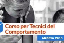 """ANDRIA – Al via il Corso per """"Tecnico del Comportamento (RBT)"""""""