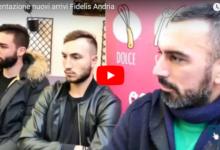 Fidelis Andria: presentati oggi i nuovi arrivi in casa biancazzurra. VIDEO e GALLERY