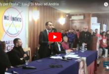 """Andria – """"Rally per l'Italia"""" di Luigi Di Maio nella città federiciana. VIDEO E PHOTOGALLERY"""