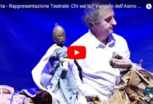 """Andria – """"Chi sei tu?"""": la vita di Cristo raccontata dall'asino paziente di Antonio Panzuto. VIDEO e FOTO"""