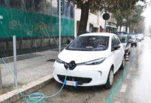 Andria diventa eco-sostenibile: inaugurate quattro colonnine per auto elettriche. FOTO E VIDEO