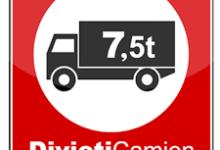 BAT – Maltempo, Prefettura: divieto di circolazione dei veicoli superiore a 7,5 tonnellate