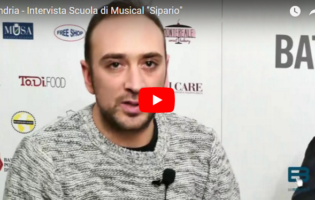 Andria – Scuola di Musical Sipario: videointervista con Riccardo Confalone