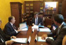Trani – Palazzo Carcano sede degli uffici giudiziari: la firma del ministro Orlando. VIDEO