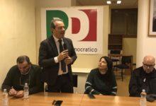 Bisceglie – Elezioni politiche 2018: l'ex sindaco Francesco Spina e i candidati del PD