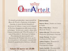Canosa di Puglia – Turismo: un primo passo verso la Tourist Card