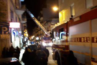 Andria – Polizia e Vigili del fuoco in pieno centro