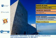 Trani – Prima domenica del mese: Castello aperto gratuitamente