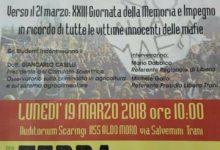 """Trani – Libera """"Verso il 21 marzo"""": domani incontro a scuola con Giancarlo Caselli"""