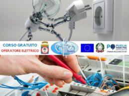 """Trani – Aperte le iscrizioni al corso """"Operatore Elettrico"""" del Cifir"""