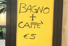 """Molfetta – Visita Papa Francesco, bar e ristoranti se ne approfittano: """"Bagno e caffè a 5 euro"""". FOTO"""