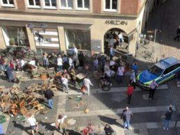 Germania – Attacco terroristico: furgone sulla folla a Münster
