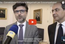 Andria – 11 eco-compattatori già funzionanti: stipulata ieri la convenzione Comune-Megamark. IL VIDEO