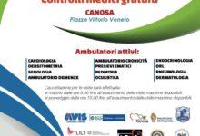Canosa di Puglia – Tre giorni di salute, sport e solidarietà. Appuntamento dal 19 aprile per il Campus della Salute