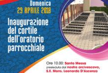 San Ferdinando – Inaugurazione cortile oratorio parrocchia Sacro Cuore di Gesù