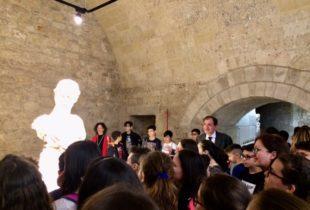 """Barletta – Presentati il nuovo Lapidarium del Castello e la Mostra """"Victory of Democracy"""". Domani l'inaugurazione"""