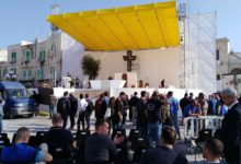 Molfetta – Ultimi preparativi per la visita di Papa Francesco. VIDEO