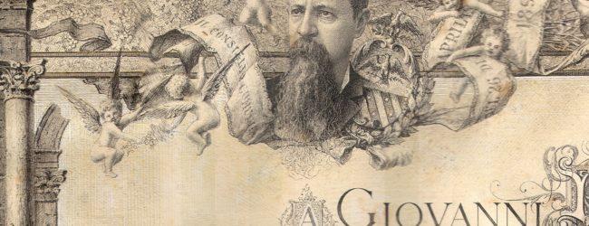 Ritrovata pergamena della cittadinanza onoraria di Canosa concessa a Giovanni Bovio