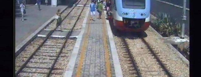 Scontro treni: le immagini esclusive del treno alla sua ultima fermata
