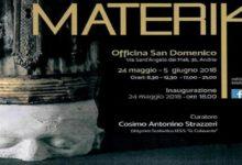 Andria – Mostra d'Arte all'Officina San Domenico da oggi al 5 giugno