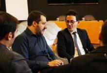 Barletta – Chiusura della campagna elettorale di Basile (Lega) in diretta telefonica con Salvini